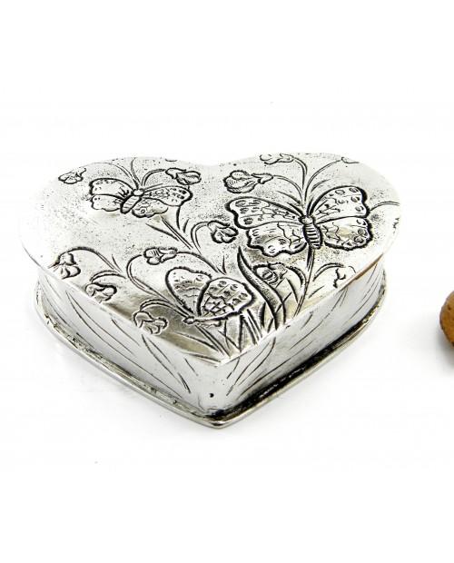 Scatolina portapastiglie cuore
