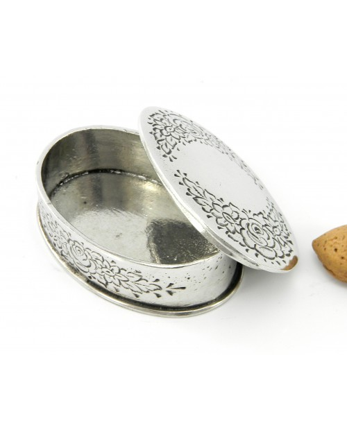 Scatolina portapastiglie ovale