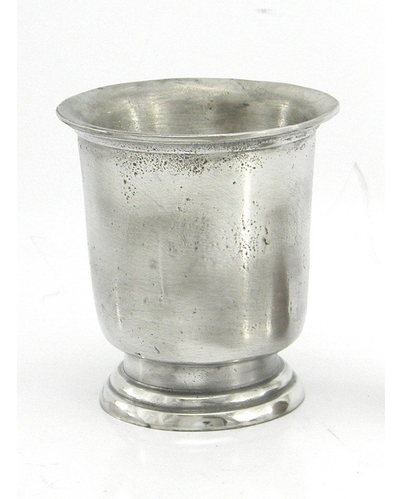 Glass, based antique pewter