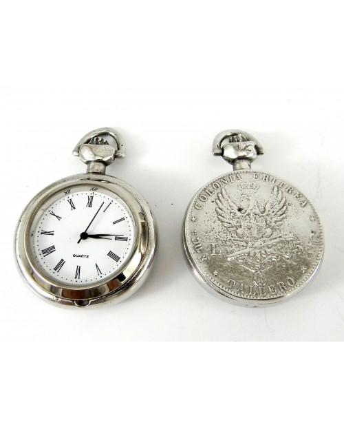 Orologio da taschino con medaglia italiana