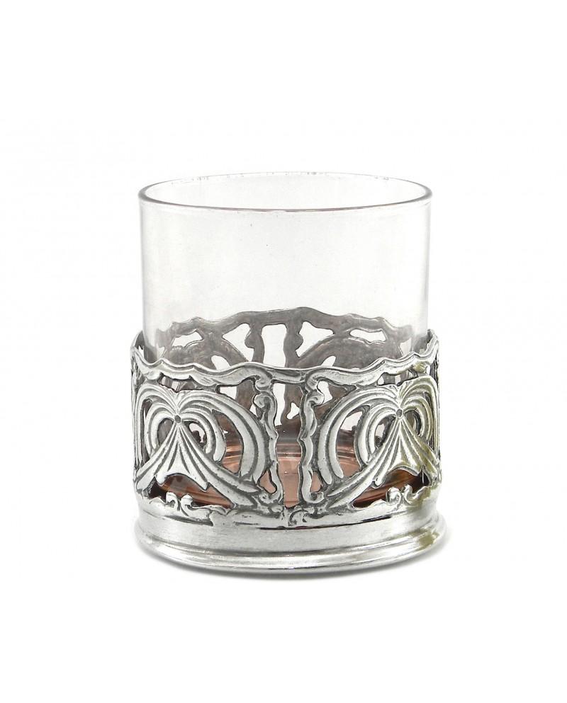 Glass, perforiert, Zinn