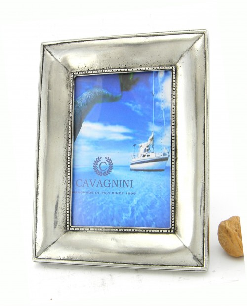 "Rectangular photo frame with large cord - photo 5""x7"""