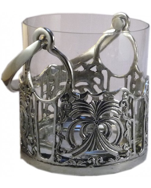Bucket perforated pewter