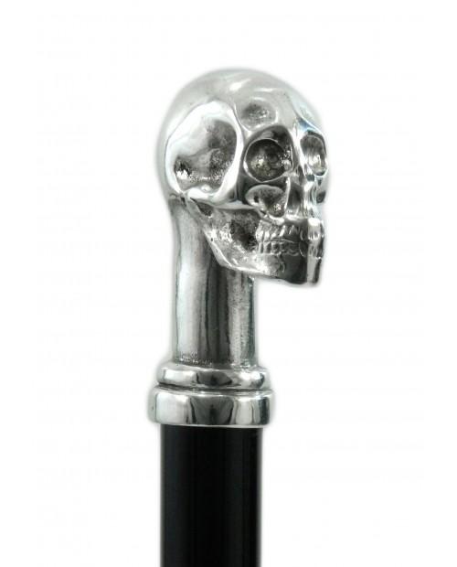 Bâton de marche, crâne. Bâton personnalisable pour les personnes âgées. Bâton de marche homme élégant