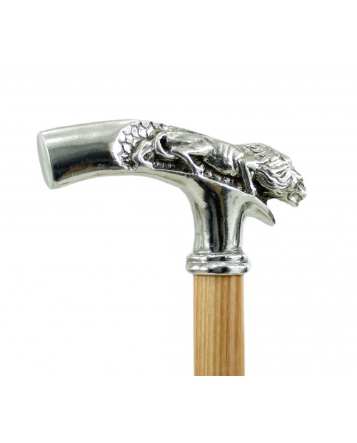 Walking sick wood, lion handle elegan for men and Women for old people cavagnini