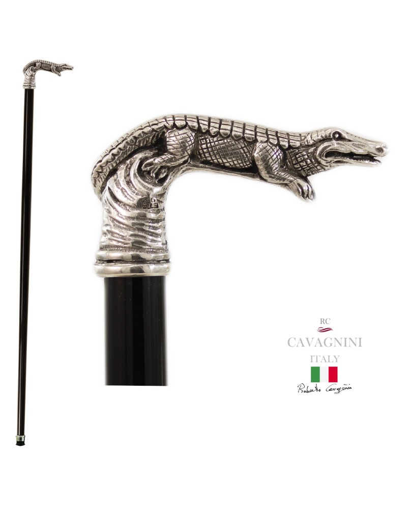 crocodile walking stick