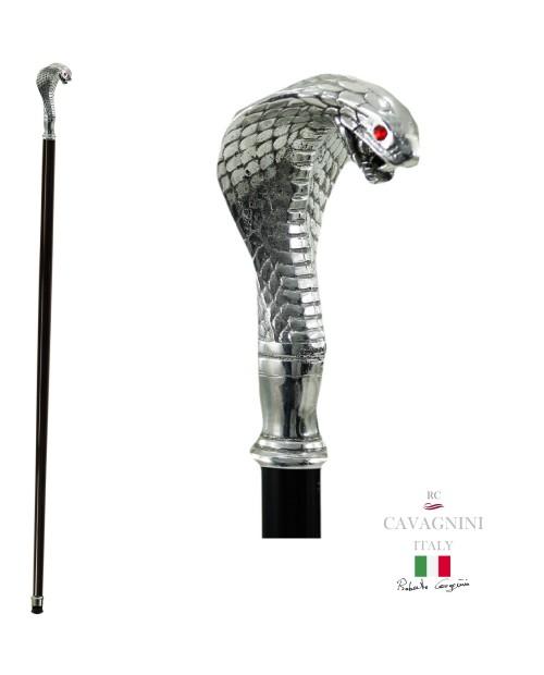 Bastón, Cobra Palo personalizable para los ancianos. Hombre elegante bastones