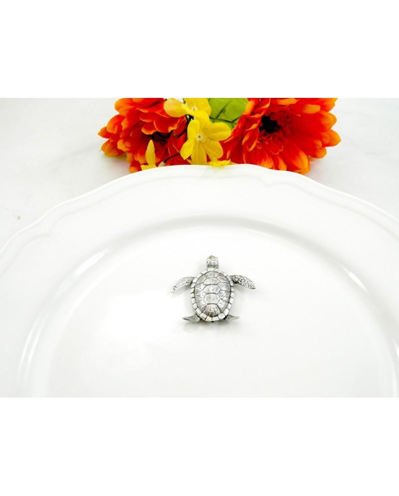 OMAGGIO - Segnaposto tartaruga Made in Italy