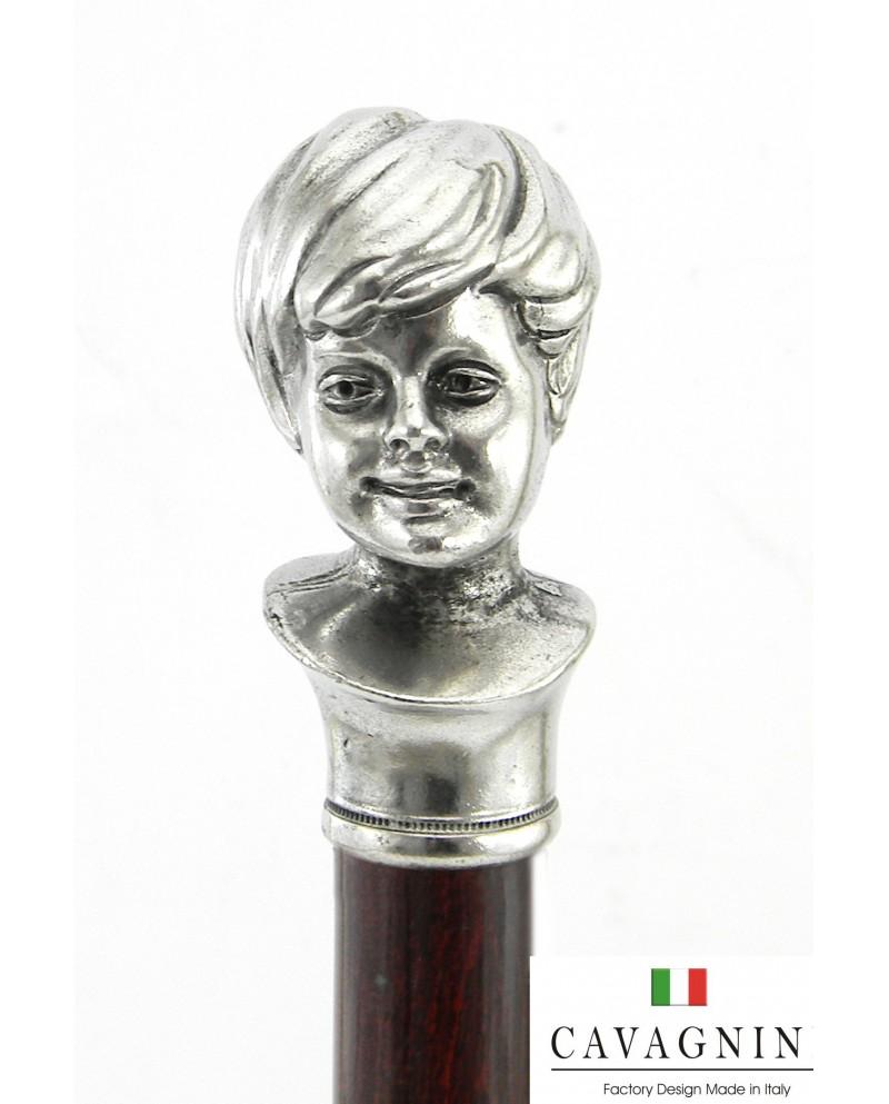 Eleganter Putto-Spazierstock, ideal als Geschenk, Cavagnini