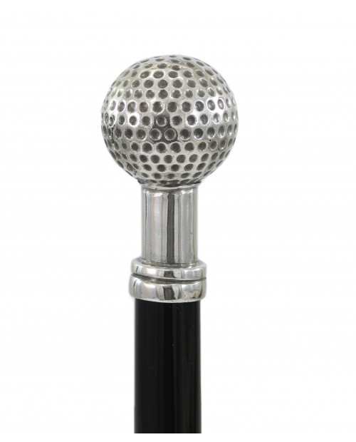 Walking stick, Golf ball. Customizable. Elegant and classy gift.