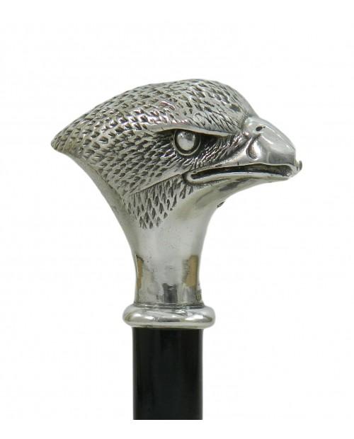 Bâton de marche orthopédique pour hommes et femmes, modèle faucon. Bâtonnets Cavagnini personnalisés