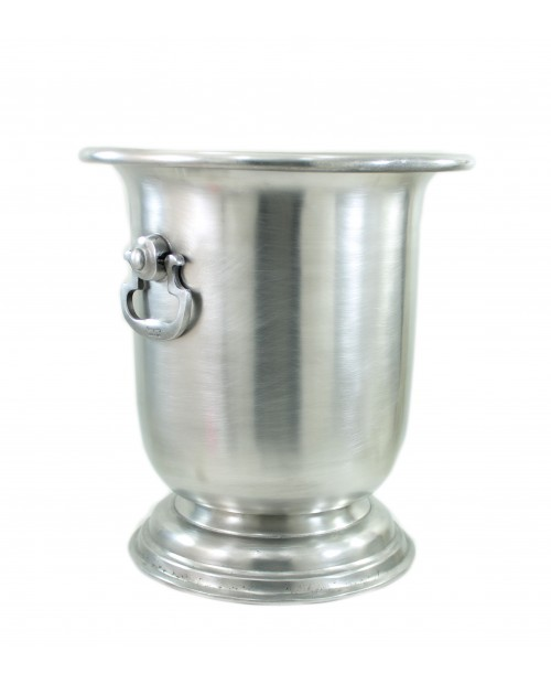 Small pewter champagne bucket