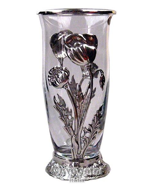 Vase, amapola, peltre