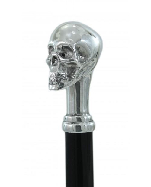 Grand bâton de marche crâne. Cannes élégantes et confortables Cavagnini Pour hommes et femmes