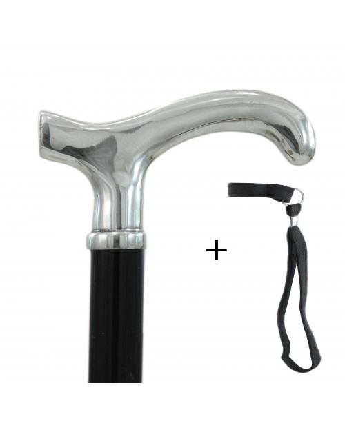 Elegant walking sticks for men and for women, Ergonomic Derby Knob, Black Friday. Customizable