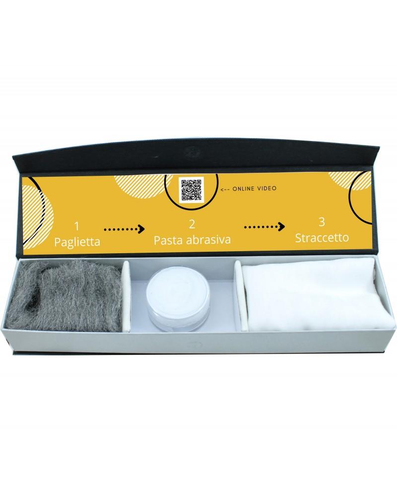 Kit per pulizia peltro