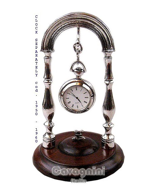 Watch stand wood base ( clock excluded)