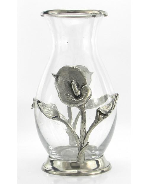 Vase, peltre Calle,