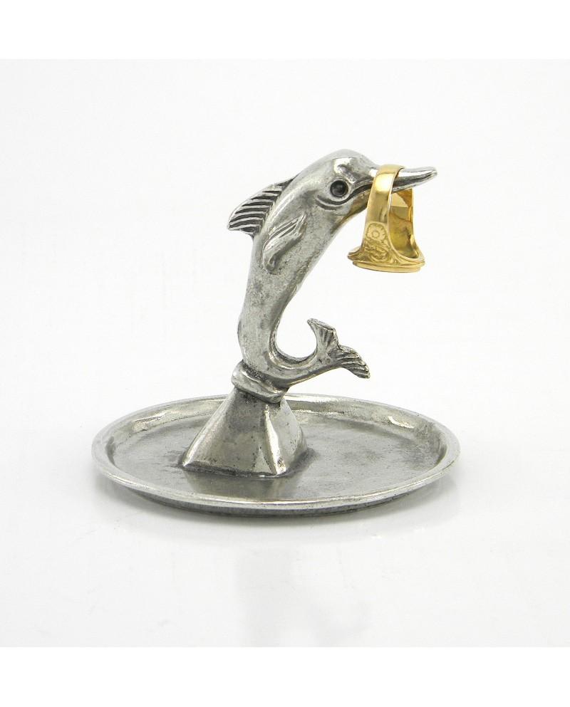 Portanelli con piattino /delfino