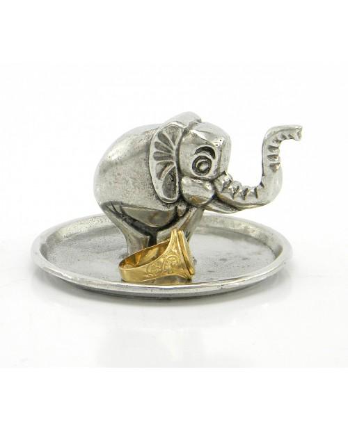 Portanelli con piattino /elefante
